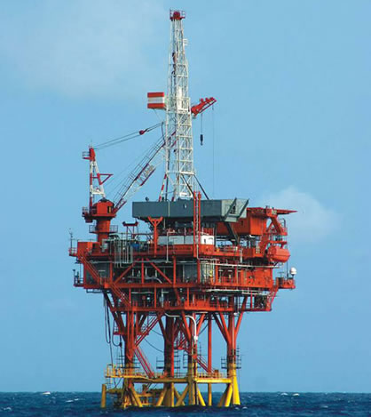 offshore workover rig